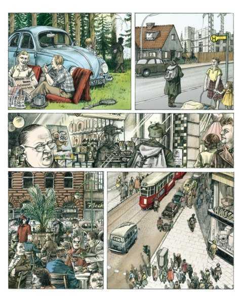 Deutschland comic